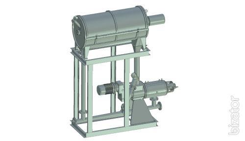 Module dehydration bards, grains, biomass, line osushivaniya