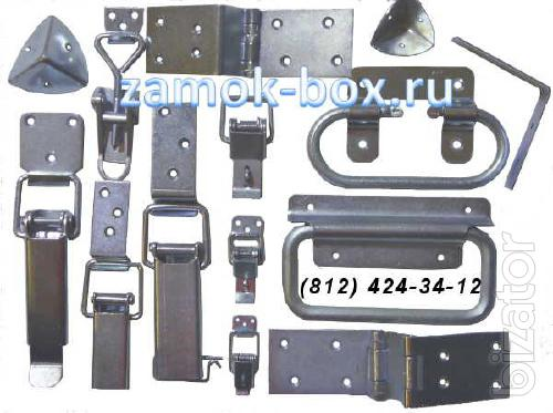 Locks for drawers, latches for drawers, castle, frog, castle, coupling, lock 1-1 GOST 16561 76