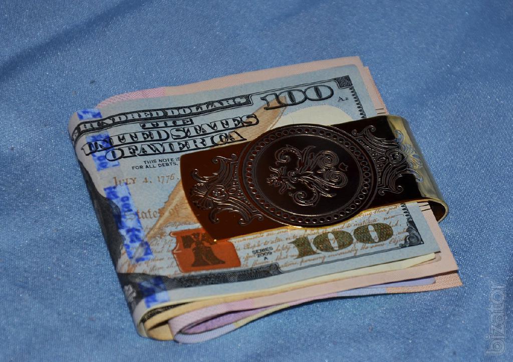 Подарки зажимы для денег 81