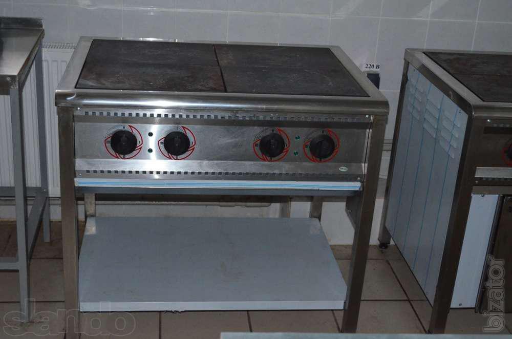 Stove Electric Industrial 4 Burner
