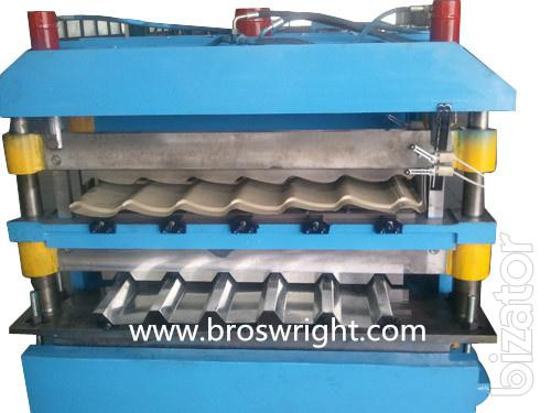 Will sell the equipment for manufacture of corrugated Board,metal,profiles,pipes from China
