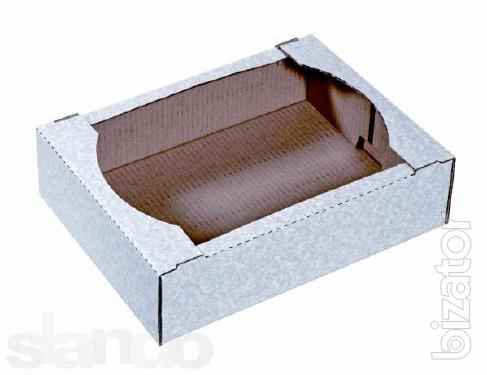 Cartons, corrugated tray and another corrugated boxes made to order