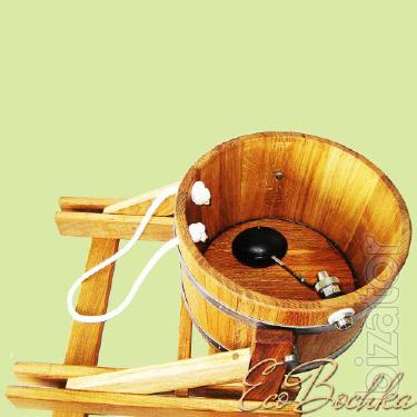 The bucket falls oak 10 L. the action 1140 USD.