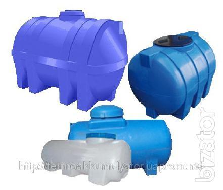 Barrel water 3000l horizontal