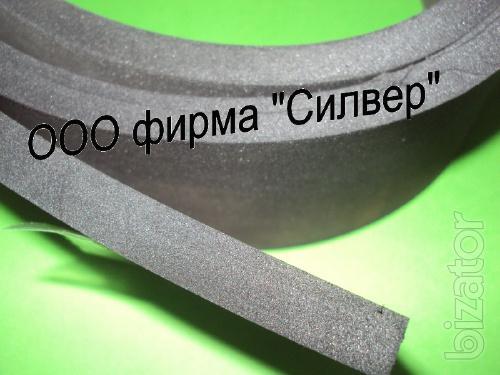 Microporous rubber