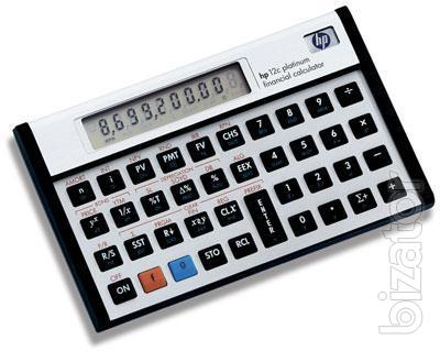 Cfa Calculator Hp 12c Platinum