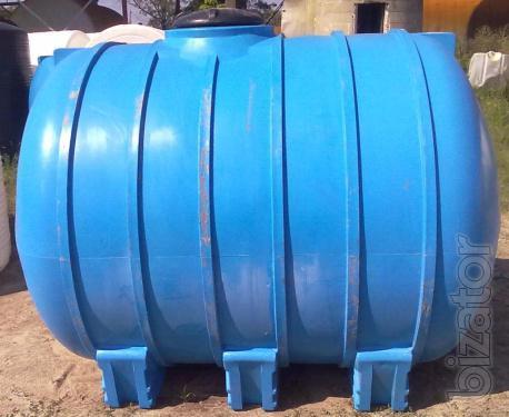 The horizontal water tank 5000 l