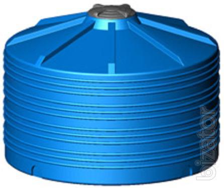 Plastic cylindrical 5000 l