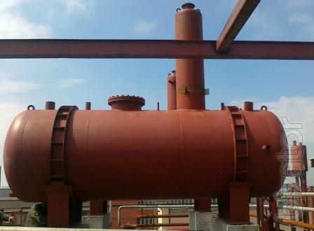 The production of RVS and CSG, tanks with heater and EP, pressure vessels, gas tanks and tanks