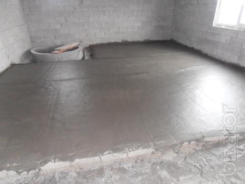 The monolithic foam insulation