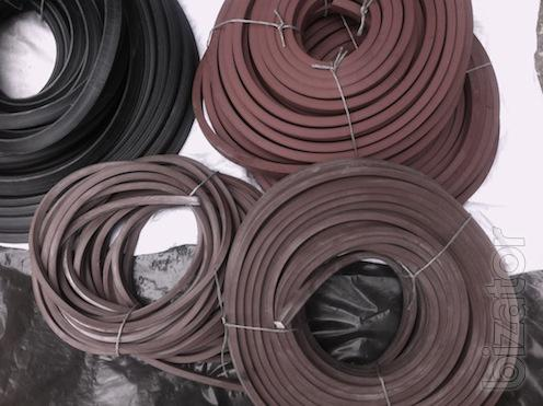 For industry , shipbuilding and ship repair: rubber sealing profile