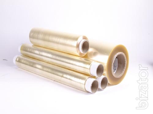 Stretch food wrap PVC