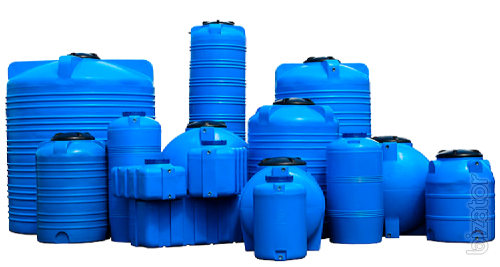 Plastic water containers