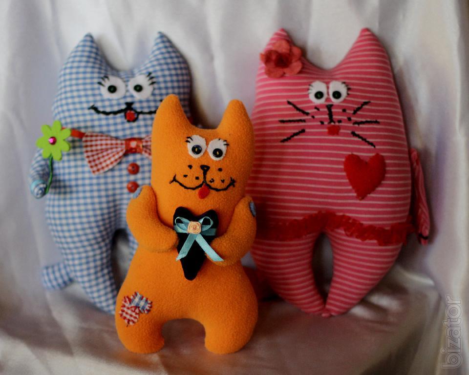 Необычные игрушки из текстиля своими руками 3