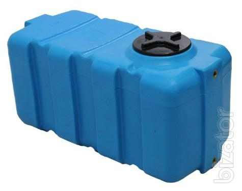 Capacity square horizontally 100-500 liters capacity, capacity