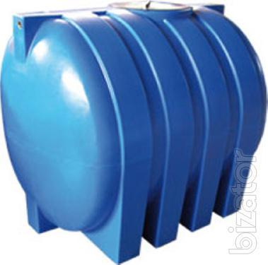 A storage tank of liquid fertilizer