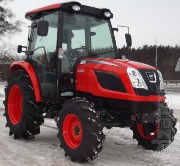 Tractor Kioti NX50C with air conditioning - Buy on www bizator com