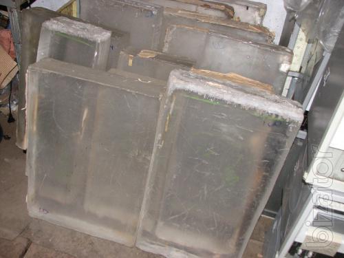 plexiglass block thick. 80,100,110 mm, the remains
