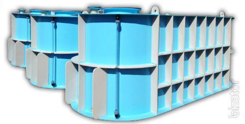 A reservoir for storage and transportation of fertilizers Kharkov Raisins