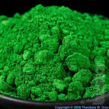 Chromium oxide technical pigment
