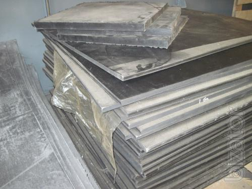 The technical plates (rubber) TMCs MBS