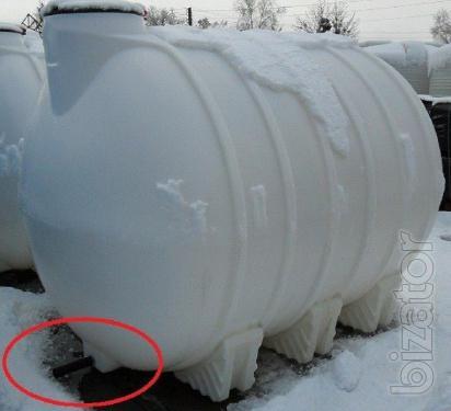 Capacity tanks for transportation and storage of Pryluky, Chernihiv