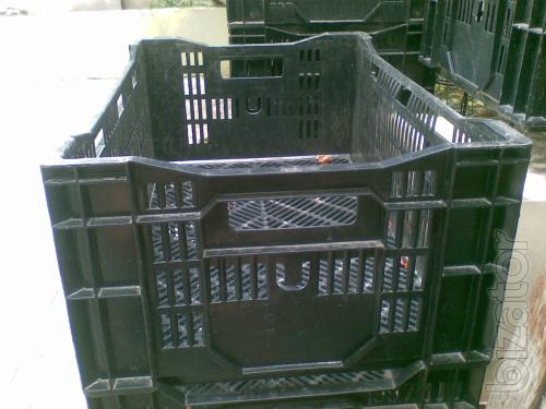 Tara. The black box, perforated for vegetables, fish, meat, storage.