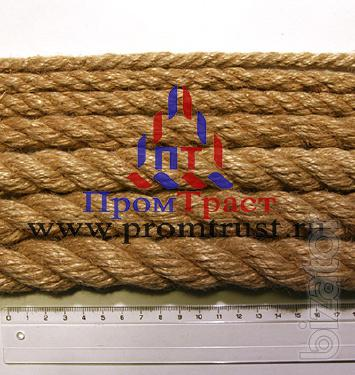 """Jute rope diameter from 6 to 110mm. The company LLC """"Protract"""""""