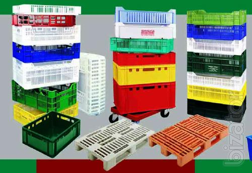 The acceptance of plastic boxes, plastic waste Kiev