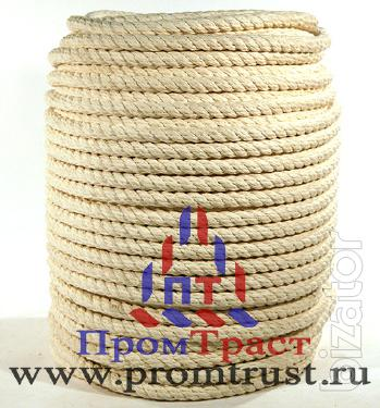"The cotton rope diameter up to 5 mm to 48 mm. LLC ""Protract"""