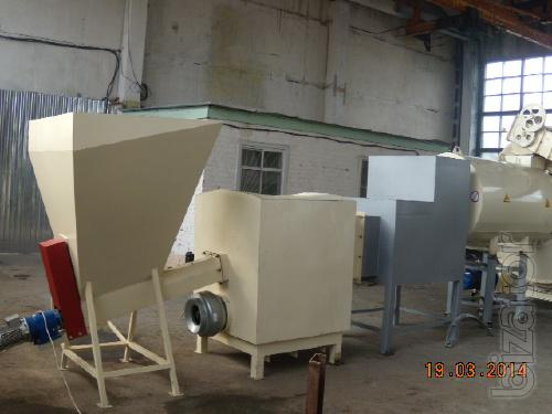 The drying unit, drum, solid fuel, for bards, grain, sawdust, peat, tarsi