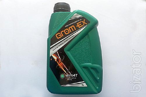 Motor oil Grom-ex MOTO 4T 10W40 1l semi-synthetics