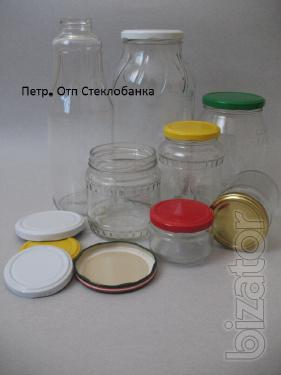 Glass jars, cover