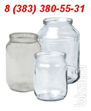 Buy glass jars, glass jars wholesale price in Novosibirsk, Tomsk, Krasnoyarsk, Omsk, Abakan, Altai, Irkutsk, Dalnerechensk, Achinsk,