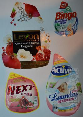 Heat shrink PVC label