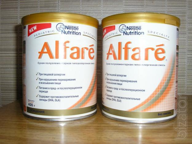 Смесь Nestle Alfare сухая 4 г (фото, описание) по цене