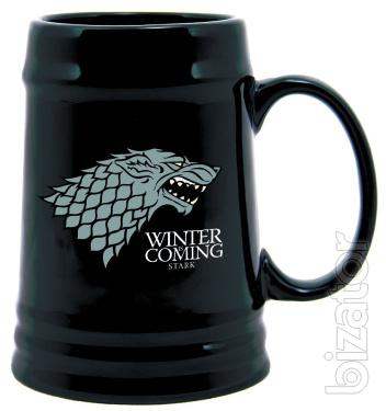 Mug Cup Game of Thrones with the arms and motto