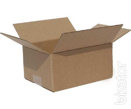 the production of cardboard packaging