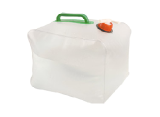 Foldable canister for 10 liters of water