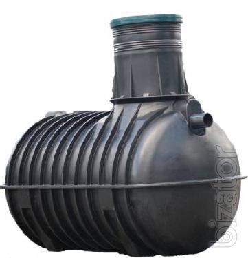 The septic tank for the house, tanks for sewage Belogorodka fastow Sumy, Chernigov, Odessa