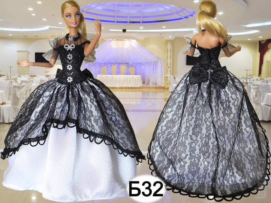 Clothes for Barbie dolls - ball gowns. - Buy on www.bizator.com