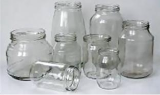 Glass jars can buy in bulk