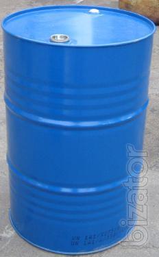 metal and plastic barrels