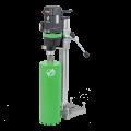 Install diamond drilling (drilling) Eibenstock DB 160 (220 V, 2.5 kW, drill hole diameter of 162 mm, speed 700 rpm) - a bestseller!