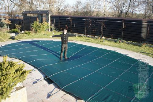 Trampoline cover for swimming pools trampoline cover for for Trampoline piscine