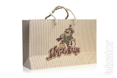Corrugated paper ECO-bags