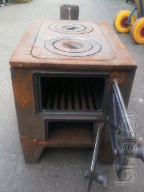 Cast iron stove. Oven stove folding on 2 burners. New.