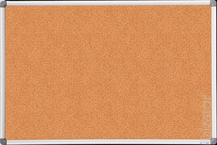 sell cork board 60 x 90 cm aluminium frame buy on. Black Bedroom Furniture Sets. Home Design Ideas