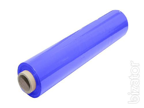 Stretch film blue