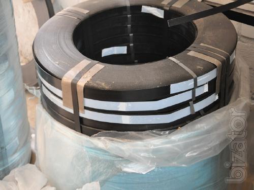 Tape coated metal
